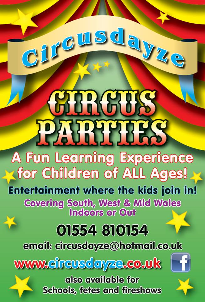 Roll up, roll up for a circus party