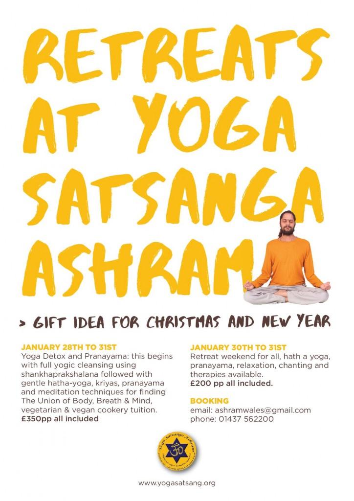 healthy christmas and new years gift ideas from yoga satsang ashram